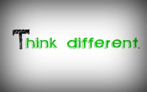 Download Think Different Wallpaper Gallery