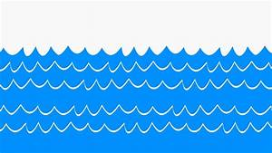 Water Waves Cartoon - ClipArt Best