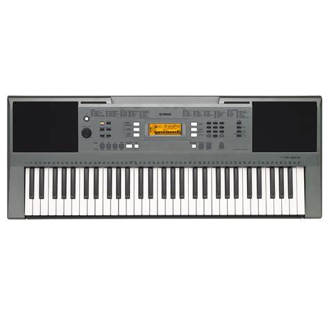 yamaha keyboard psr yamaha psr e353 portable keyboard at gear4music