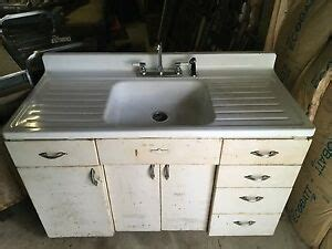 Vintage Youngstown Metal Kitchen Cabinets For Sale by Vintage Youngstown By Mullins Kitchen Sink Farm Sink Metal