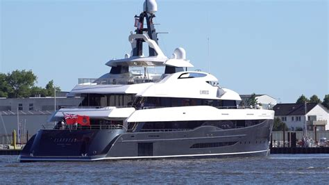 Yacht Elandess by 4k Mega Yacht Elandess Farewell Abeking And Rasmussen