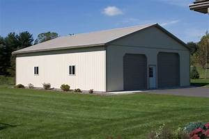 24 x 36 garage cost 2017 2018 best cars reviews With 36 x 50 pole barn