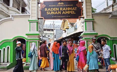 wisata religi sunan ampel surabaya  dibuka