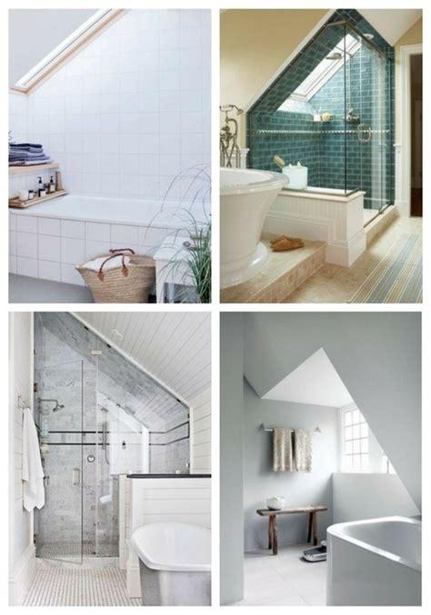 52 Cool And Smart Attic Bathroom Designs  Comfydwellingcom