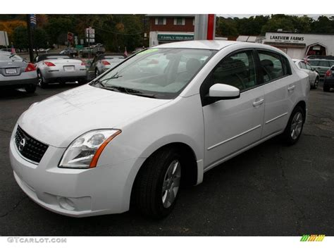 nissan 2008 white 2008 fresh powder white nissan sentra 2 0 19833408