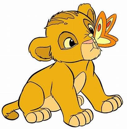 Lion Simba King Clip Clipart Disney Cliparts