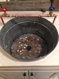 diy bathroom sink   bucket bucket   sink