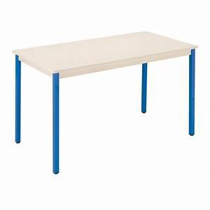 Bureau 130 Cm : table de bureau multi usages co beige 130 x 65 cm maxiburo ~ Teatrodelosmanantiales.com Idées de Décoration