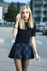 Comment porter la jupe tartan mini ou longue