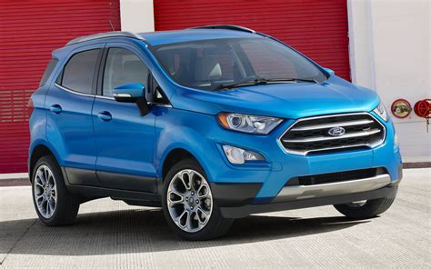 ford ecosport titanium 2018 2018 ford ecosport titanium us wallpapers and hd