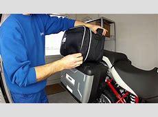 Innentaschen Variokoffer für BMW R1200GS YouTube