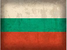 Bulgaria Flag Vintage Distressed Finish Mixed Media by