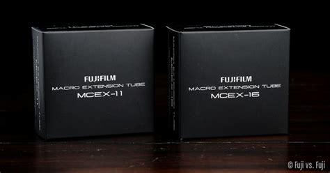 fuji mcex   mcex  extension tubes fuji  fuji