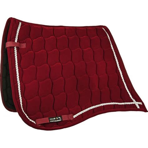 tapis de selle antik velours dressage 224 39 13 ht