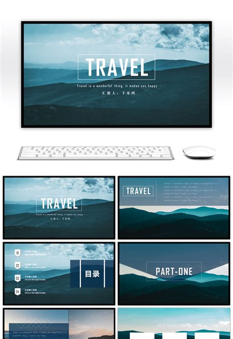 awesome simple travel diary album  template
