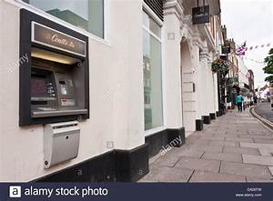 Coutts bank cash machine in Eton High Street, Berkshire ...