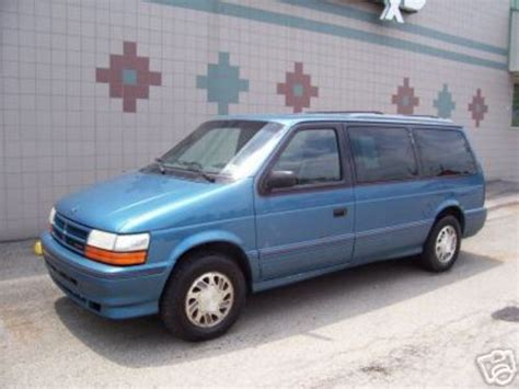 download car manuals 1994 plymouth voyager regenerative braking chrysler as town country caravan and voyager service