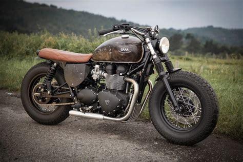 Bobber Triumph Bonneville Par Baak Motocyclettes
