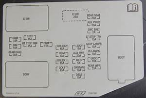 Hummer H3 Fuse Box   18 Wiring Diagram Images