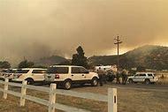 Fire in Mariposa County California