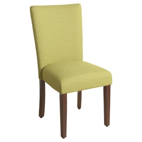 parson dining chairs cherry legs parsons chair with espresso leg homepop ebay