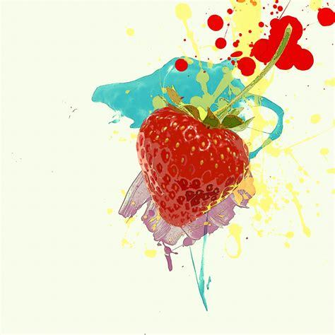 Strawberry Splash Picture by Strawberry Splash By Absurdwordpreferred On Deviantart