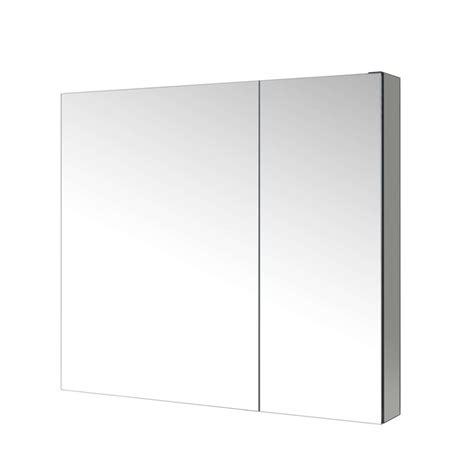 confiant 30 quot mirrored medicine cabinet recessed or surface