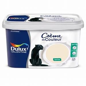 Blanc Cassé Peinture : peinture dulux valentine cr me de couleur blanc cass 2 5l ~ Melissatoandfro.com Idées de Décoration