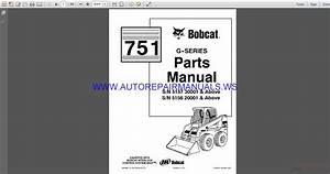 Bobcat 751 Parts Manual