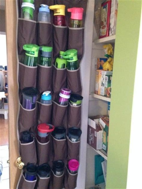 Water Bottle Storage & Organization Ideas
