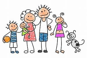 Happy Family Of 5 Clipart | Clipart Panda - Free Clipart ...