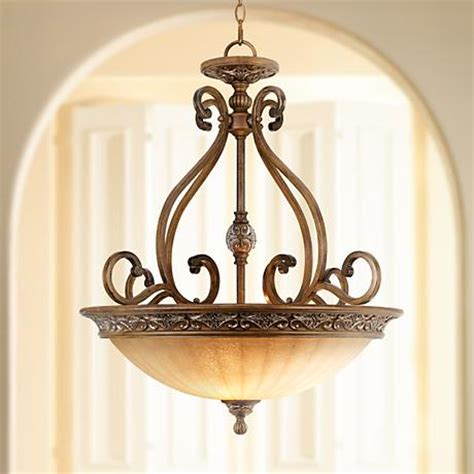 kathy ireland sterling estate 26 1 2 quot wide pendant light