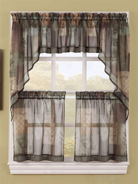 kitchen curtains and valances kitchen curtains lichtenberg sheer kitchen