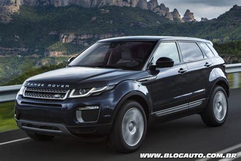 Range Rover Evoque 2016 Estreia Novo Visual Blogauto