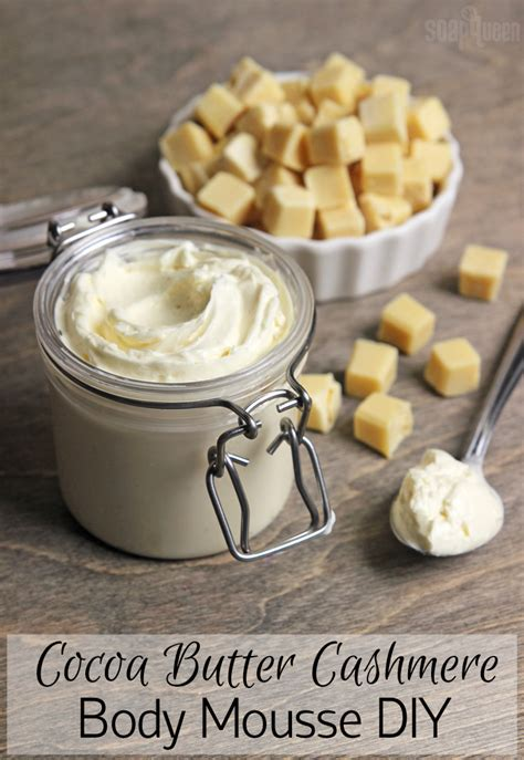 DIY Cocoa Butter Body Lotion