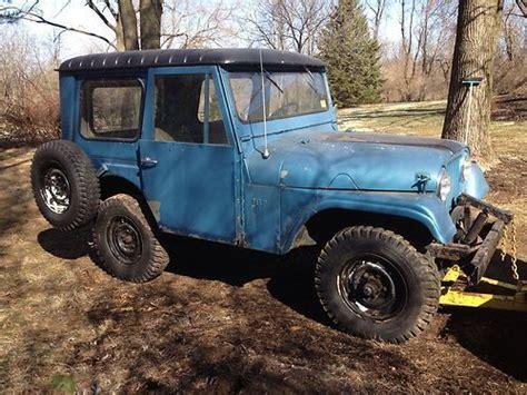 jeep kaiser cj5 find used jeep cj5 1964 jeep kaiser cj tr 4 cyl f head