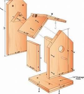 25+ unique Bird house plans ideas on Pinterest Cabane