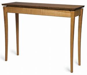 Hall Table Project: A Lesson in Curves - FineWoodworking