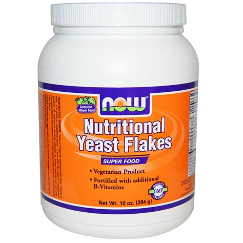 what is nutritional yeast now foods nutritional yeast flakes 10 oz 284 g iherb com