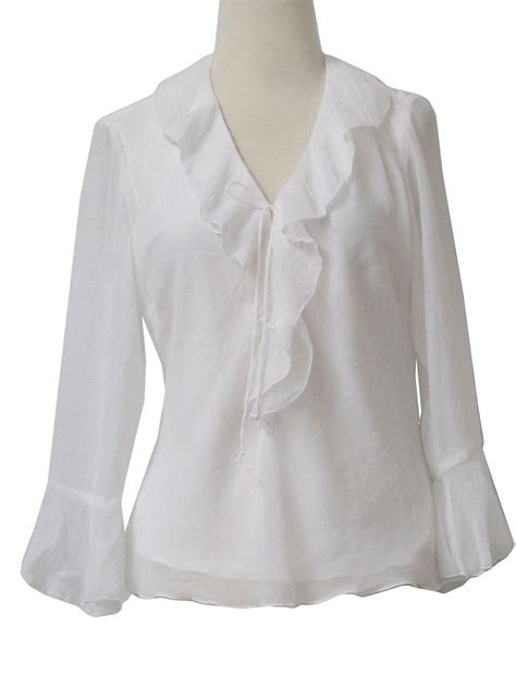 womens white blouses womens white frilly blouses 39 s lace blouses