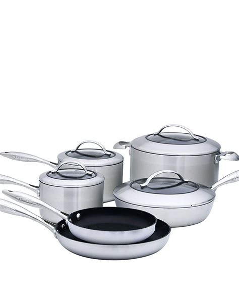 ceramic cookware sets kitchen piece scanpan pans pots rated cooking experts according ctx gh