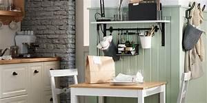 Table Cuisine Petit Espace : 10 coins repas adapt s aux petits espaces marie claire ~ Teatrodelosmanantiales.com Idées de Décoration