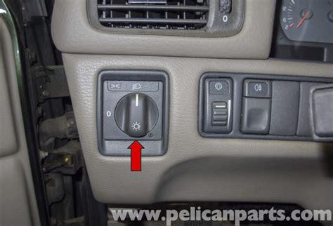 volvo  headlight switch replacement