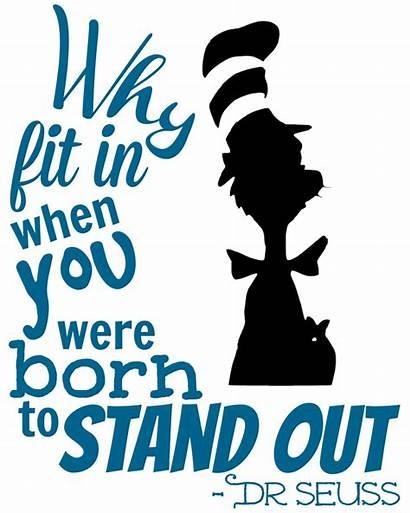 Seuss Quote Dr Inspiration Cricut Cat Vinyl
