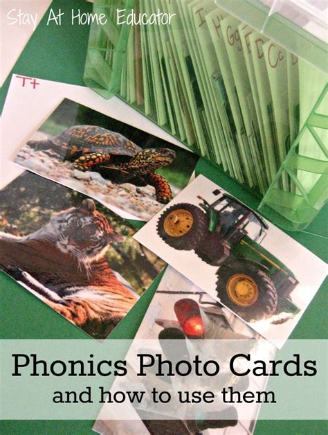 Phonics Photo Cards And How To Use Them