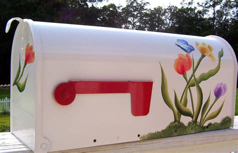 Hand Painted Mailboxes And Their Benefits Fake Flowers Diy Strawberry Planter Valentine Candy Bouquet Playhouse Plans Free Highlights And Lowlights Towel Wrap Ice Light Tv Stand
