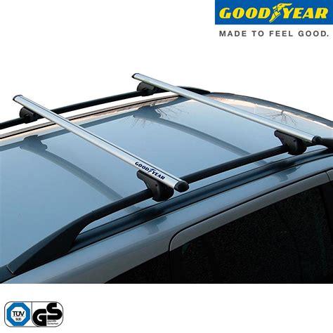 porta pacchi auto coppia barre portatutto portapacchi per auto railings