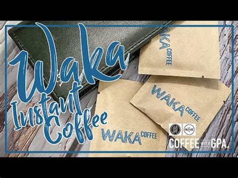I don't typically drink instant coffee except for backpacking trips or occasionally i like decaf instant if i want to have coffee with dessert waka coffee quality instant coffee, indian, light roast | 100% arabica, freeze dried, 35 servings in a 3.5 oz resealable bag amazon.com price. WAKA Instant Coffee Review - YouTube
