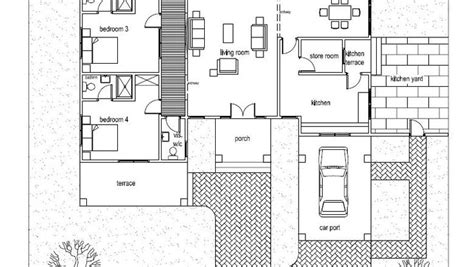 six bedroom house plans ohene house plan architects house plans