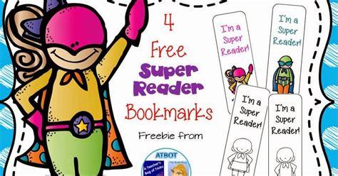 Free Super Reader Bookmarks